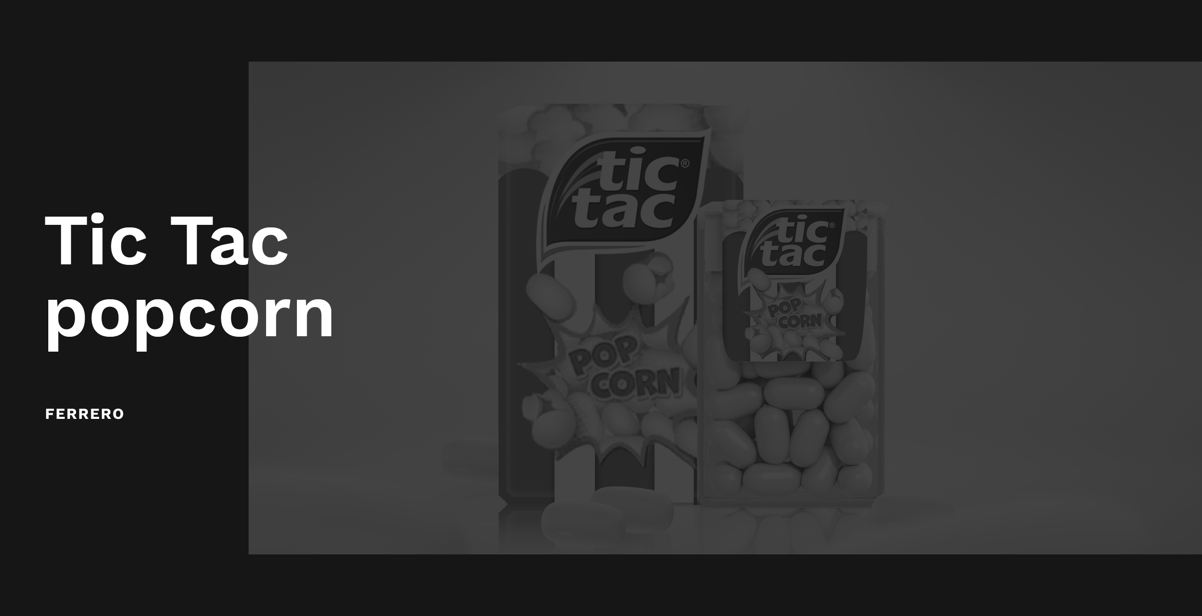 Tic Tac Pop Corn